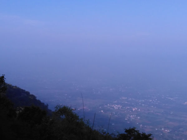 A View from Yelagiri hills