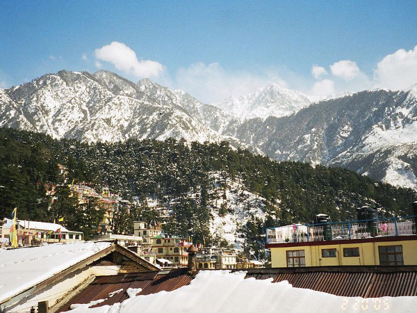 McLeod Ganj During Winter