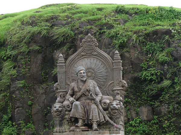 The Statue of Shivaji