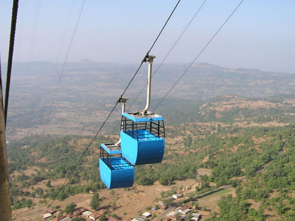 Ropeway To Reach the Fort