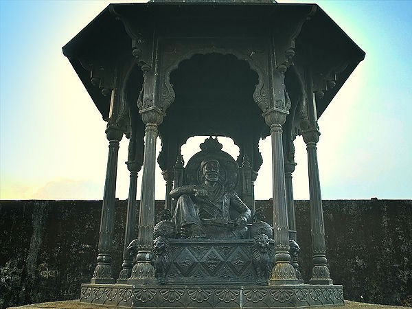 A Replica of Shivaji's Throne