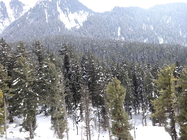 Pahalgam in Winter