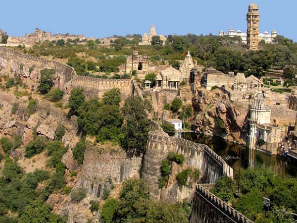 The Picturesque Chittorgarh Fort in Rajasthan