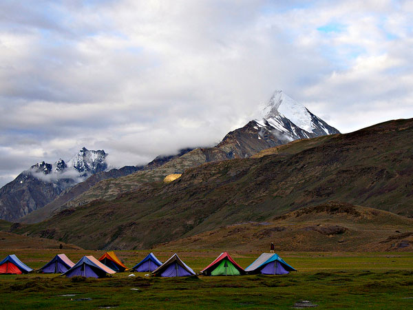 Best Places for Camping in North India