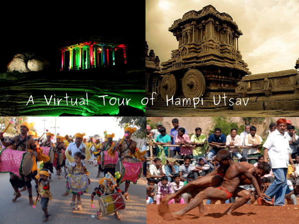 A Virtual Tour Through Hampi Utsav