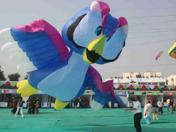 International Kite Festival in Ahmedabad 2016