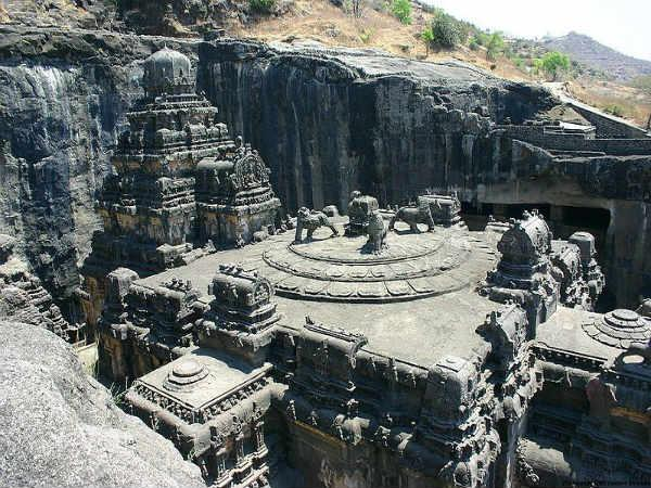 Kailasa Temple in Ellora: A Megalithic Wonder