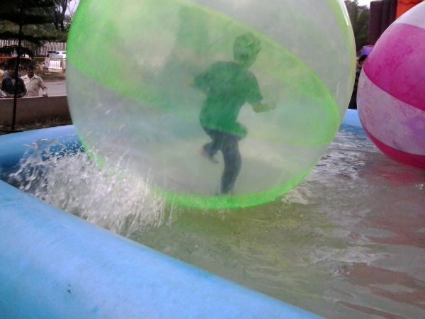 Water Zorbing in Bengaluru