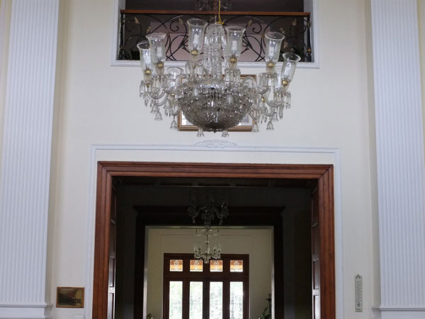 Interior View of Chail Palace