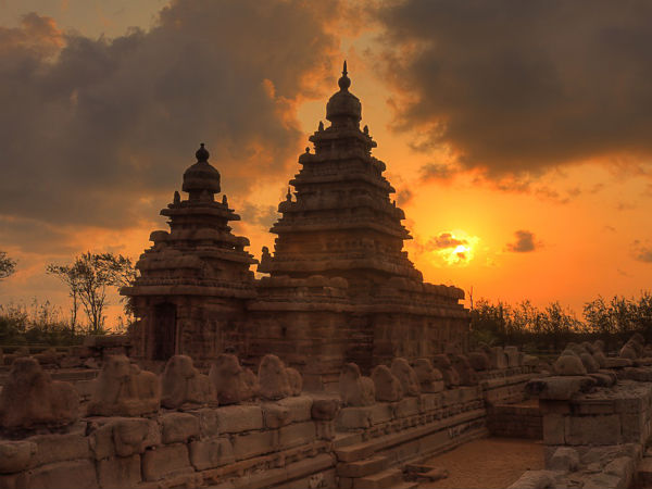 Sizzling Shore Temple