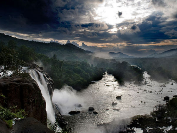 Alluring Athirappilly Falls