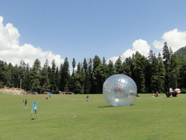 A Rolling Spectacle: Zorbing in India