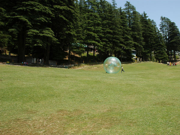 Zorb ball in Khajjiar