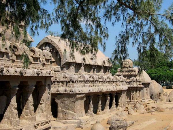 Mysterious Pancha Rathas in Mahabalipura