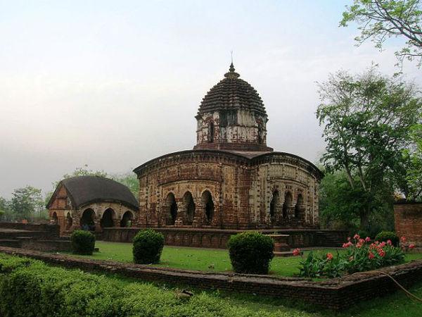 Artistic Temples in Bishnupur