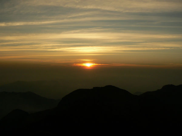Sunset at Tadiandamol