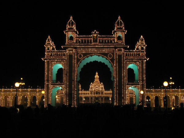 Photos of Mysore Palace!