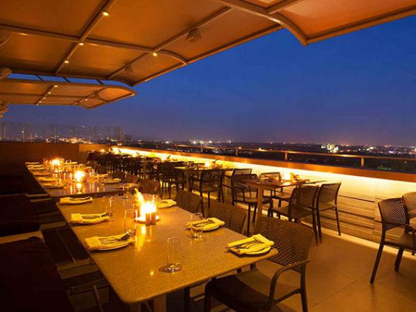 4 rooftop restaurants in bengaluru nativeplanet for 13th floor restaurant mg road