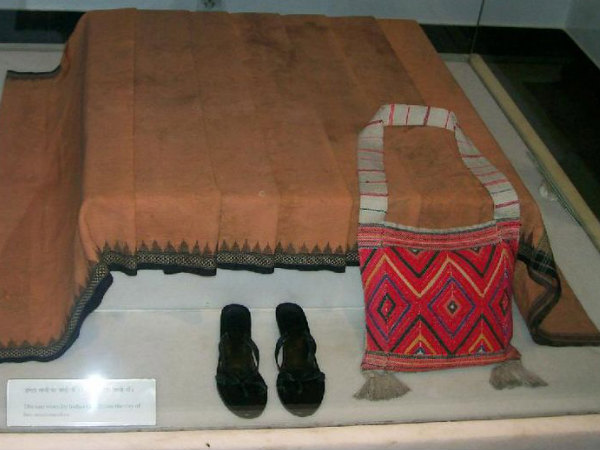 Belongings of Indira Gandhi