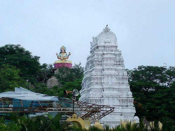 Unusual Temple For Goddess Saraswati