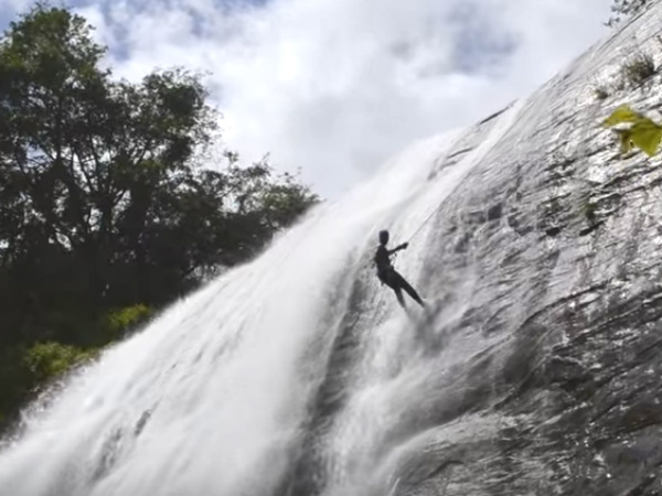 Top Places For Waterfall Rappelling