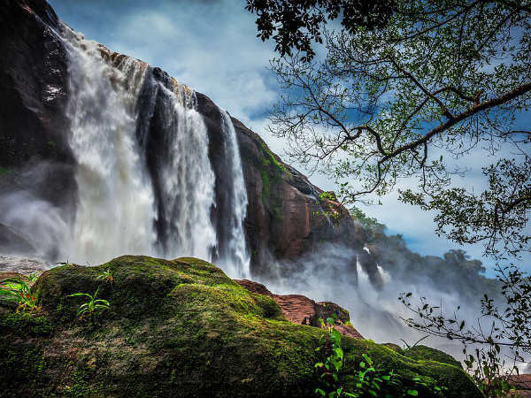 Athirappilly falls in India