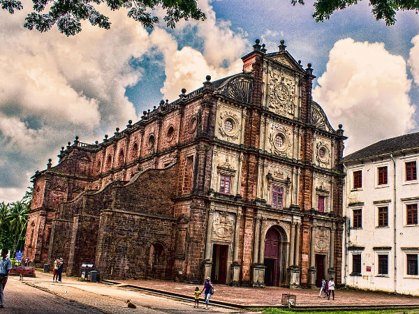 Image result for The Bom Jesus Basilica, Goa