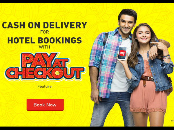 Makemytrip Discounts on Hotel Bookings