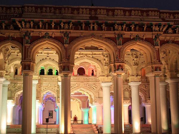 Thirumalai Nayakkar Palace in Madurai