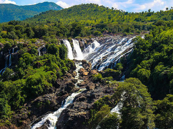 10 One day destinations from Bangalore - Shivanasamudra Falls