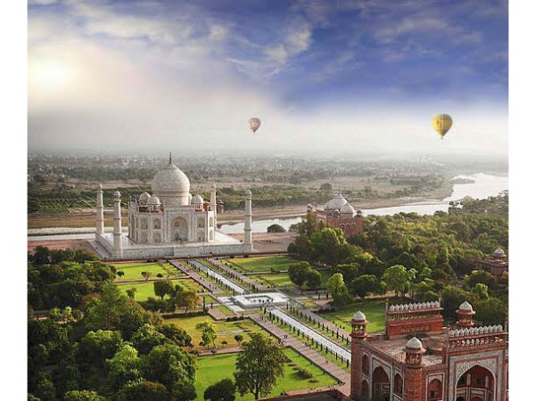 Even Shah Jahan had not seen Taj Mahal like this! Adore the grandeur of Taj Mahal from the skies!