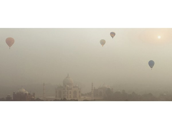 Taj Balloon Festival in Agra