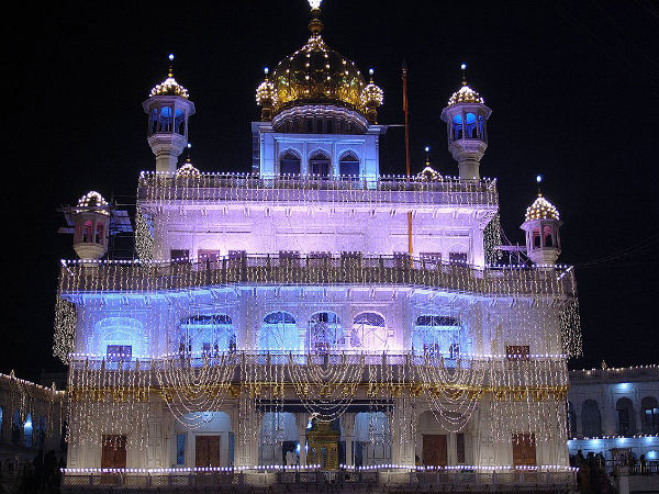 Visit to Akal Takht in Amritsar