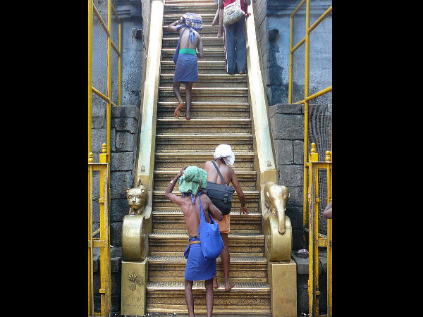 Sabarimala and the 18 Holy Steps