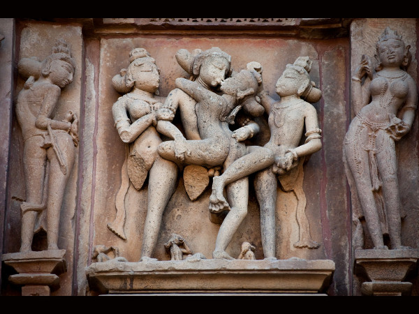 A Visual Tour of the Erotic Sculptures of Khajuraho
