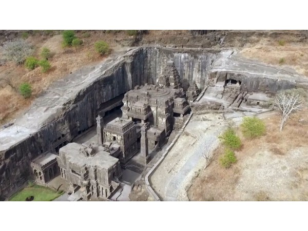 Lord Shiva temple in Ellora caves – The most gigantic structure carved out of a mountain!