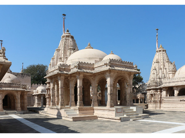 Location of Palitana Temples