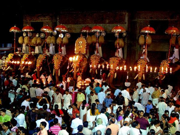 Popular Festivals Of Thrissur