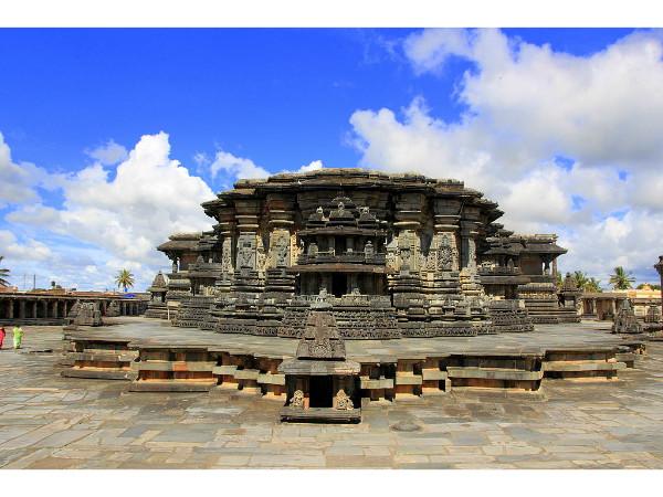 Enjoying the Vistas of Chennakeshava Temple in Belur