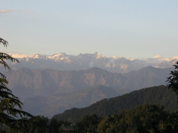 Dainkund peak trek in Dalhousie