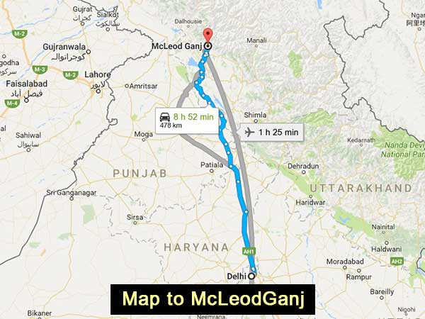 Delhi To Mcleodganj – An Experience To Revel In