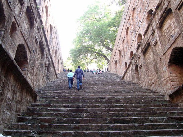 Lined With 108 Steps