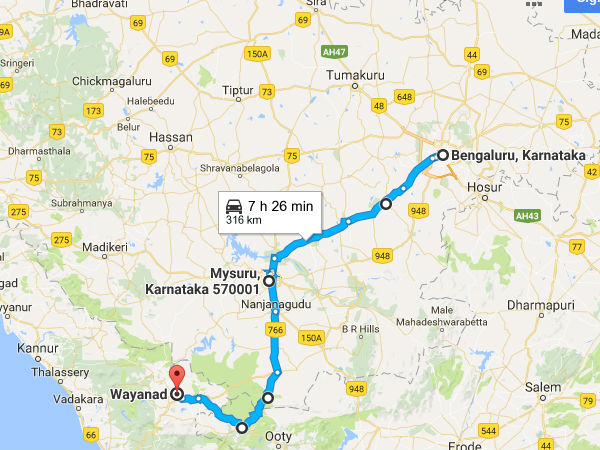 Road Trip From Bengaluru To Wayanad