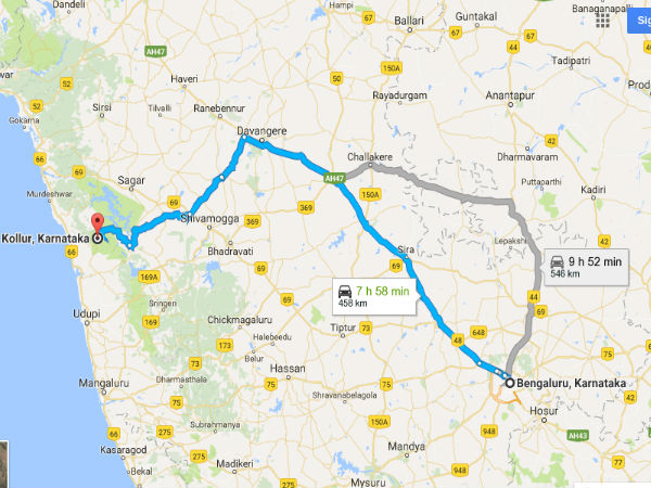Bengaluru To Kollur: A Journey To Refresh Your Mind