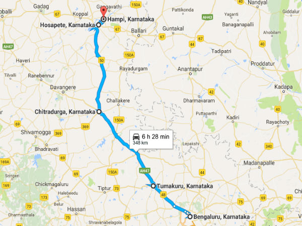 road trip from bangalore to hampi