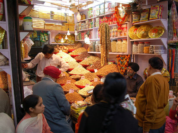 major attractions in chandni chowk