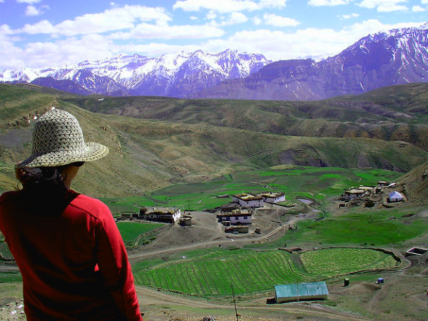 2. Home To The Highest Motorable Village In Asia