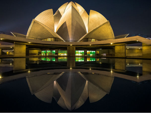 7. The Lotus Temple, Delhi