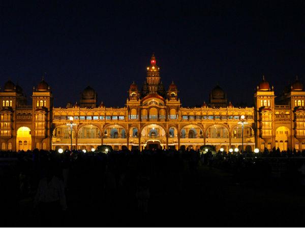 The Beautiful Palace Of Mysore