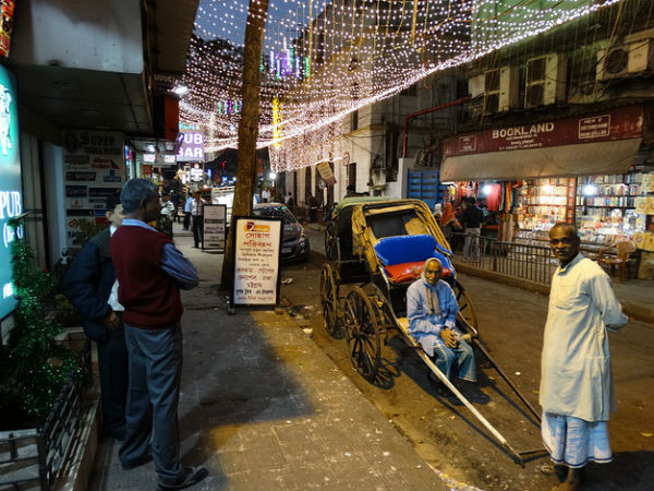 Sudder Street In Kolkata
